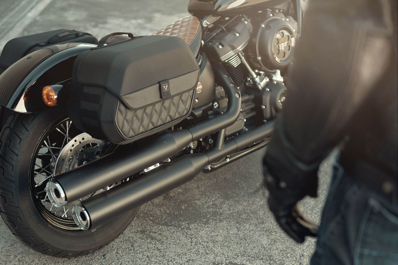 SW-MOTECH side bags exclusively for Harley-Davidson - SW-MOTECH